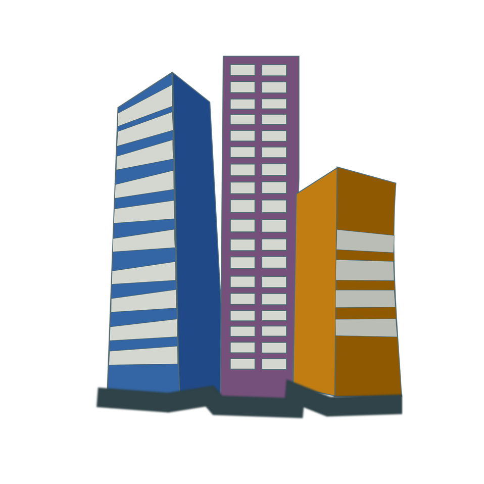 Office clipart city building #7