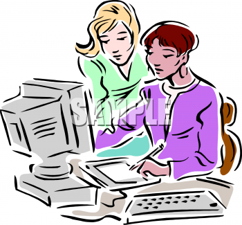Office clipart co worker Business Business Clipart Office Clip