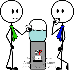 Office clipart co worker At the Water Stick at