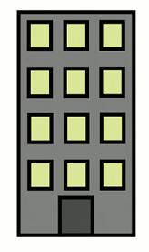 Office clipart commercial building Or building Clipart office apartment