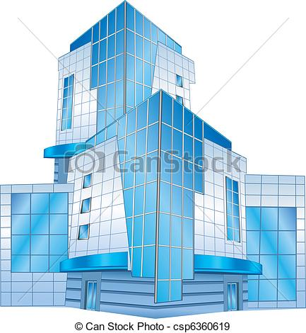 Office clipart commercial building Building EPS of building Office