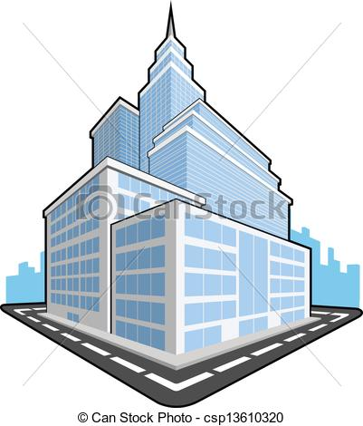 Office clipart company building A Office Office A Illustration