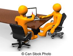 Office clipart consultant Illustration 150 Consulating client the