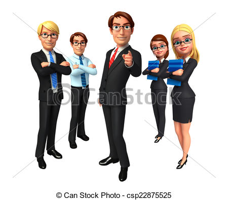 Office clipart corporate office Business in office Group of