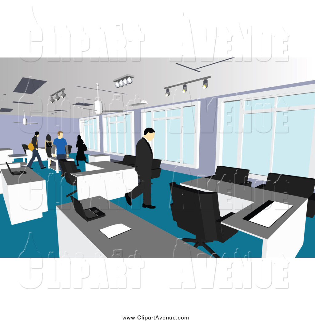 Office clipart corporate office Stock Designs People Office Free