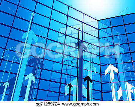 Office clipart corporation building And representing Office  buildings