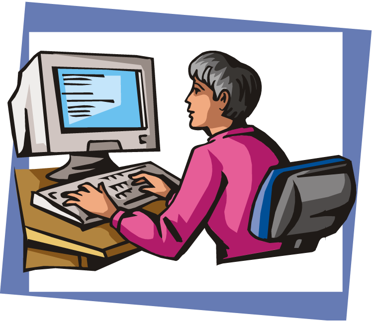 Office clipart data entry Entry Entry cliparts Computer Clipart