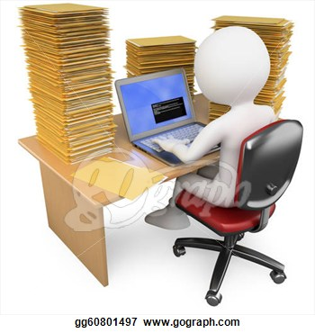 Office clipart data entry Images Clerk Free Panda Clipart
