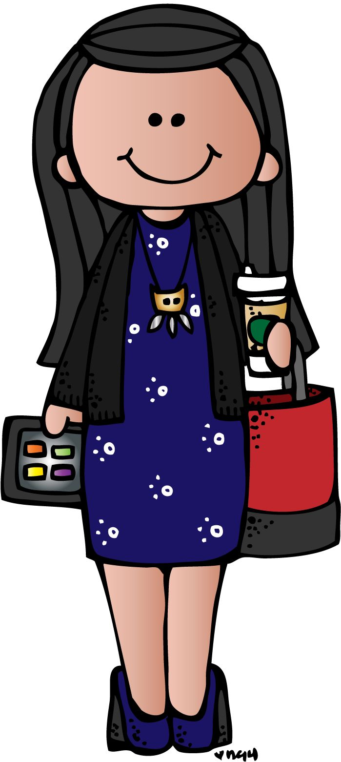 Journalist clipart female principal Reserved 2017 Clipart Office Cliparts