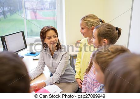 Office clipart group teacher Photo  group in teacher