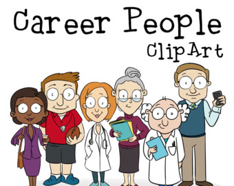 Office clipart group teacher People clipart Office Art Career