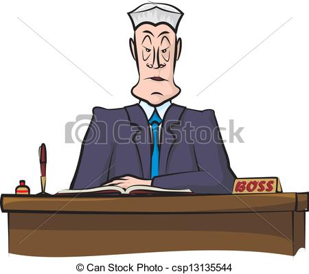 Office clipart head office Head office demanding Vector head