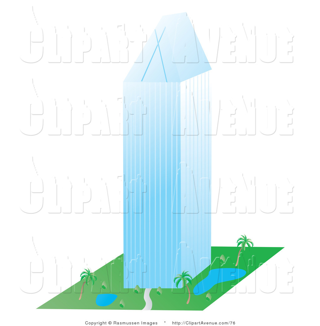 Office clipart high rise building Building a Avenue Stock Tall