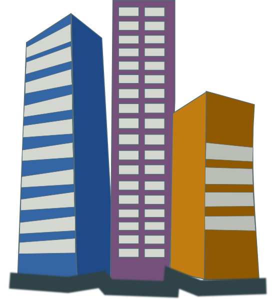 Office clipart high rise building Online Real Clip domain free