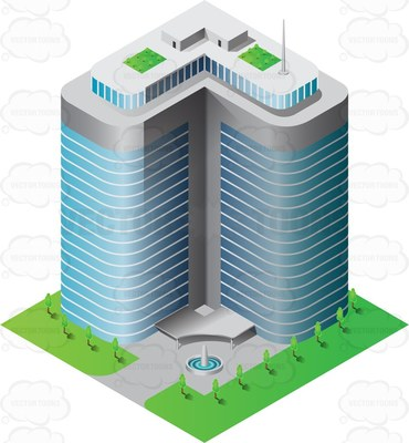 Office clipart high rise building Rise high Clipart rise Clipground
