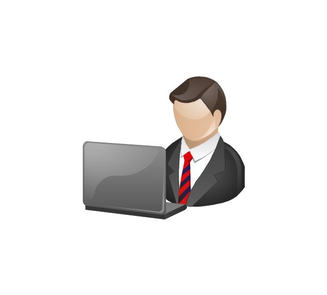 Professional clipart top management #1