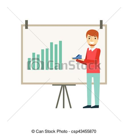 Office clipart marketing manager Shoes Illustration Marketing Chart Manager