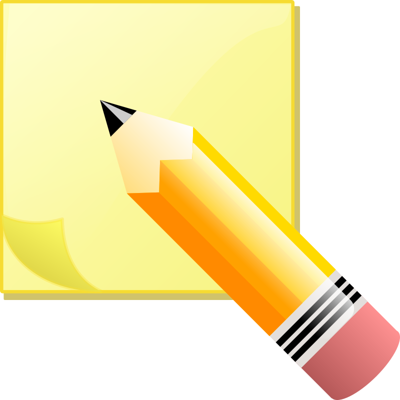 Pen clipart notes paper Notes Office Clipart Notes Office