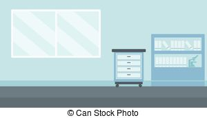 Office clipart office background Of Vector doctor office Background