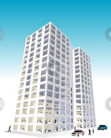 Block Office vector Similar Skyscrape
