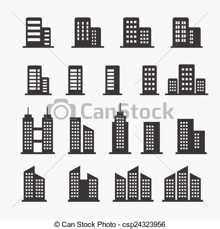 Office clipart office building Vector office icon Search