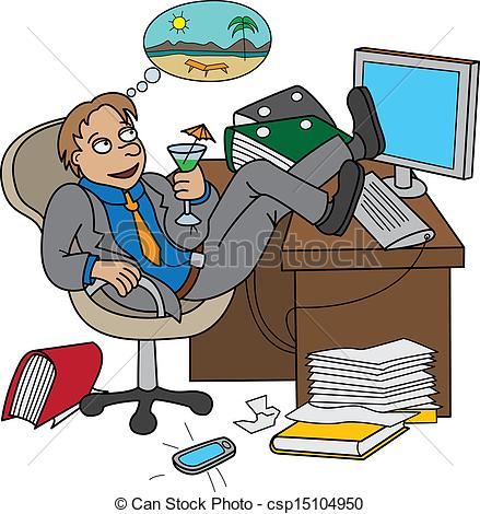 Office clipart office clerk Worker Clipart Office about csp15104950