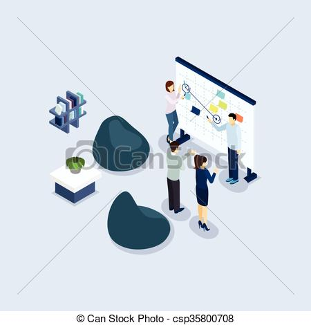 Office clipart office environment Environment Isometric of csp35800708 Environment