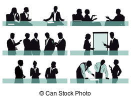 Office clipart office environment Background Isolated of Office scenes