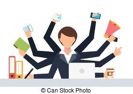 Office clipart office job Job Vector Clip illustration