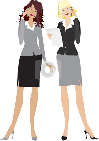 Office clipart office lady Clip office Lady girls Office