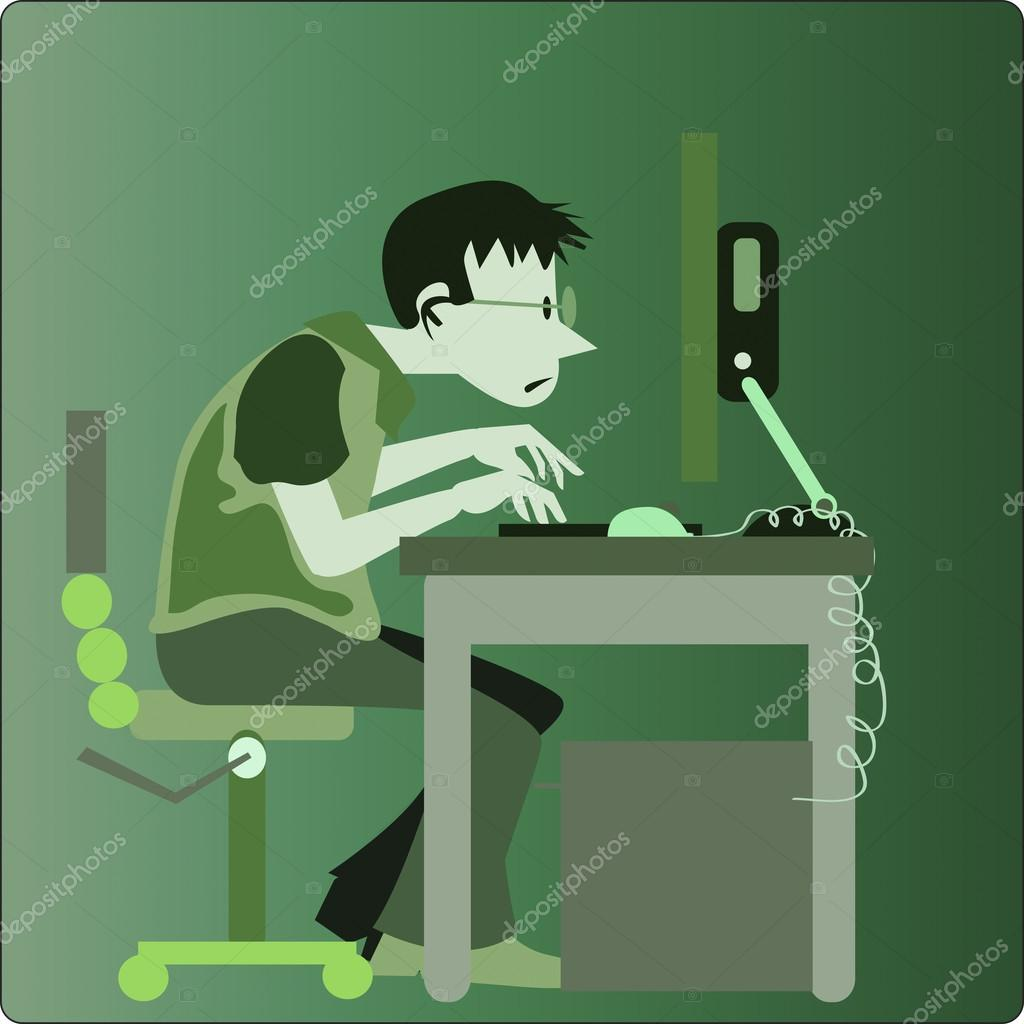 Office clipart office personnel © illustration — — kozzi2