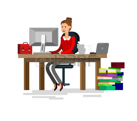 Office clipart office personnel Illustrations collection personnel Stock clipart
