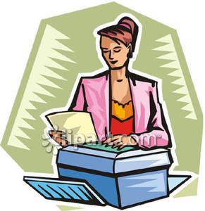 Office clipart office woman Office You Art Thank Free