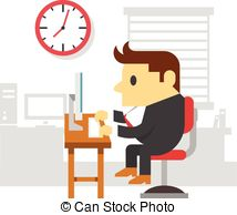 Office clipart office work  Stock Office 148 578
