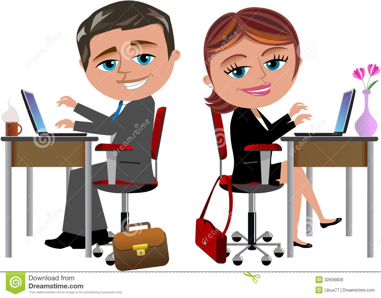 Office clipart office work Clipart collections Clipart Computer Clipart
