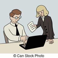 Office clipart office work Stock work Art 578 work
