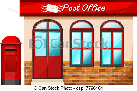 Office clipart post office 450x300 Resolution  Post Office