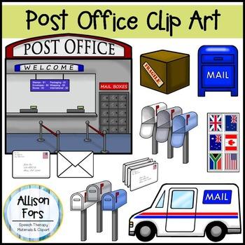Office clipart post office Mailman Clip & Office Art