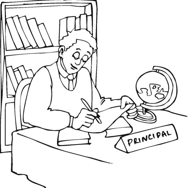 Office clipart principal office Download Clip principal Clip Art