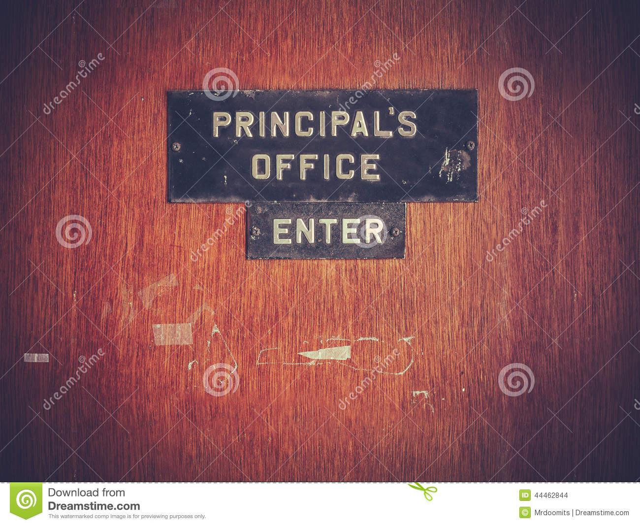 Office clipart principal office Door Clipart School For Principal