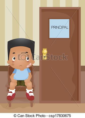 Office clipart principal office Office Boy Office Illustration