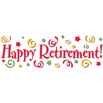 Office clipart retirement party Art Retirement Retirement Clip Free
