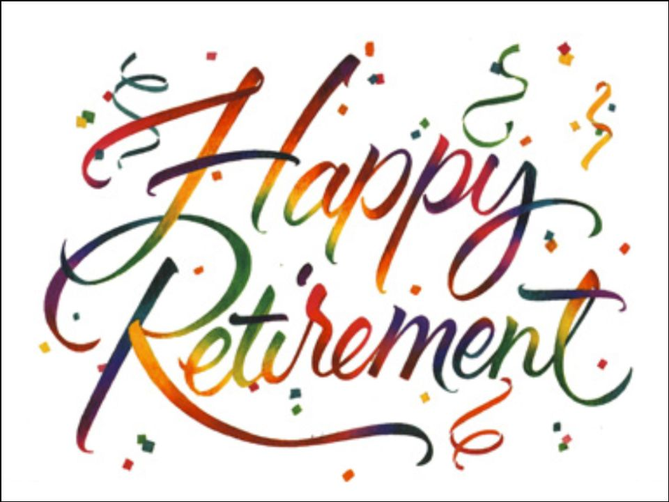 Office clipart retirement party Free  Retirement Clip Art