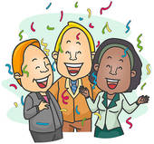 Office clipart retirement party Vector  Party office Retirement