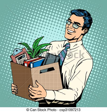 Office clipart retro Office Manager job Art recruited