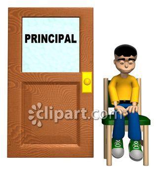 Office clipart school director