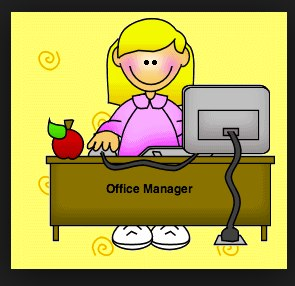 Office clipart school director Of school office Digital the