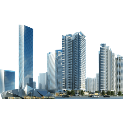 Cityscape clipart office building PNG StickPNG transparent Skyscrapers Office