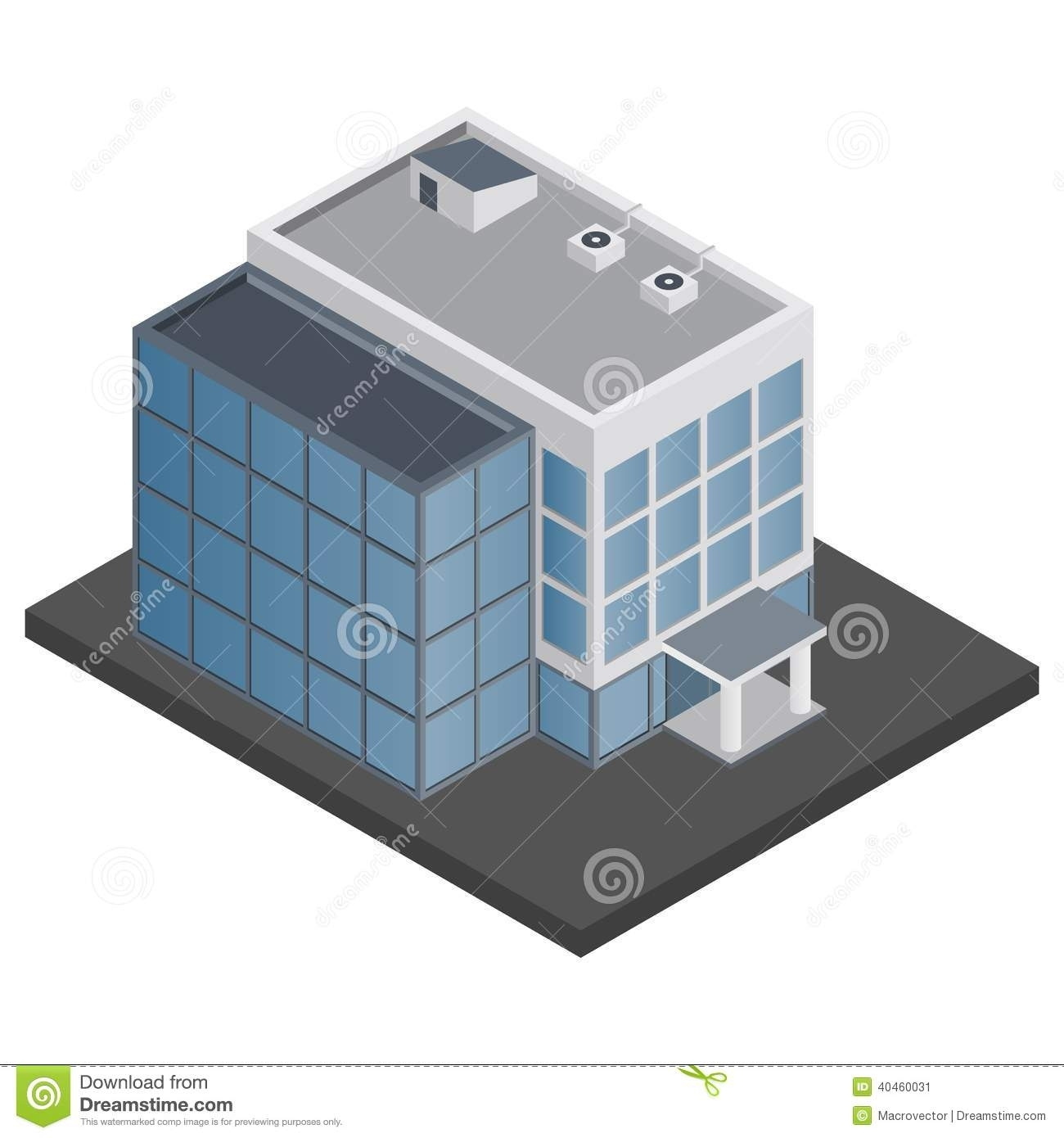 Office clipart small building Design Building Small  In
