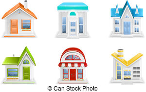 Office clipart small building Clip  Small and Illustrations